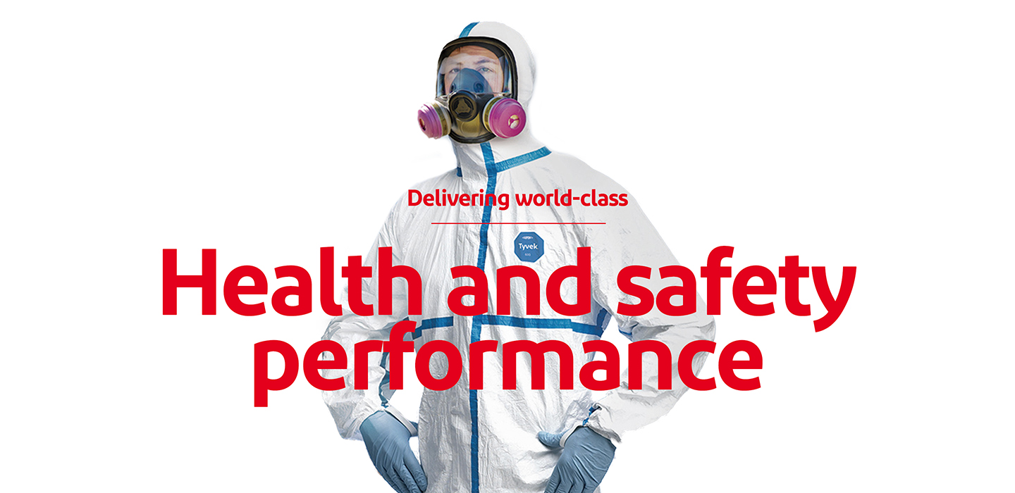 Deliver world-class environmental health and safety performance