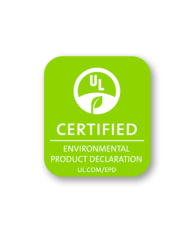 UL Certified Environmental Product Declaration logo
