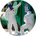 Asbestos removal protection