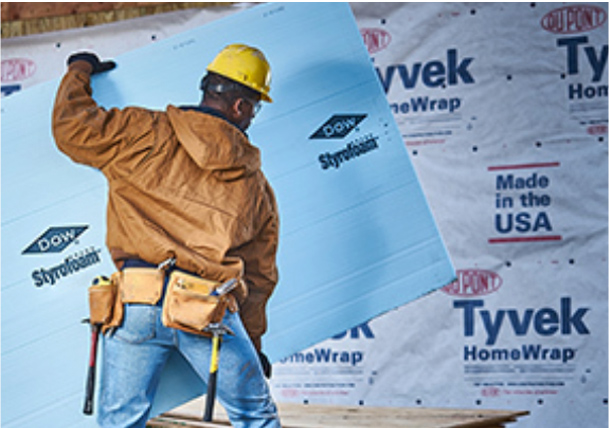 Tyvek® for building envelopes -- Tyvek® HomeWrap®