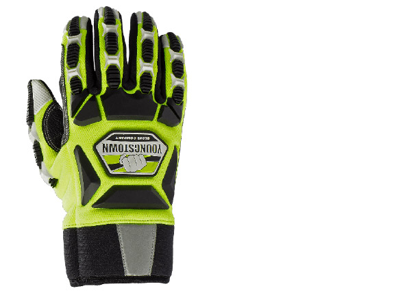 Youngstown Glove Company Safety Lime Hybrid