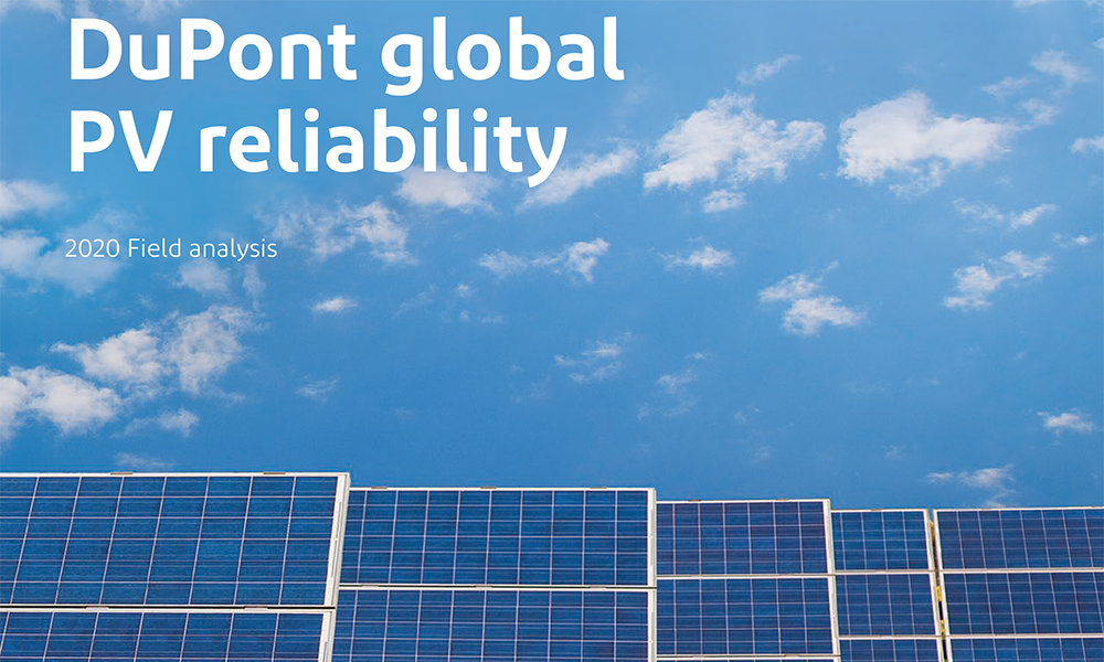 DuPont Publishes 2020 Global PV Reliability Report