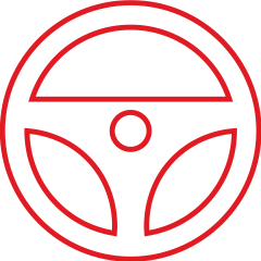 Advanced driver assistance icon