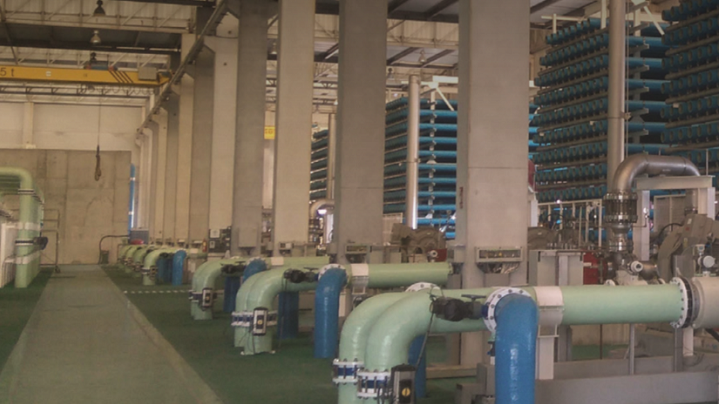 DuPont FilmTec™ reverse osmosis at the Alicante II Seawater Desalination Plant in Aciltante, Spain